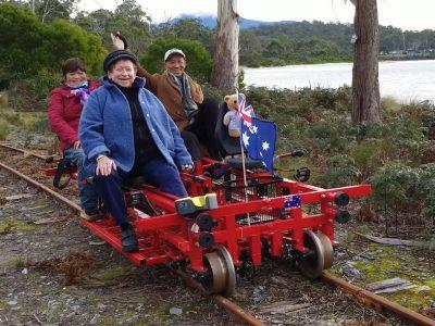 """澳洲首家铁路自行车即将驰骋在""""澳洲南极""""地带"""
